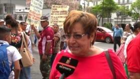 Mujeres sindicalistas contra alza de alimentos en Costa Rica
