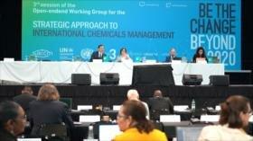Cumbre en Uruguay de 170 países sobre productos químicos