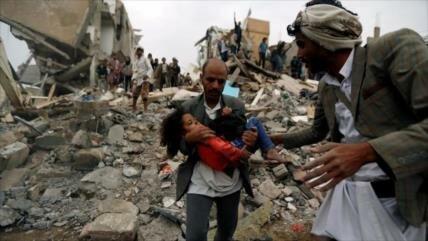 Explosión de bomba saudí deja 2 niños muertos y 8 heridos en Yemen