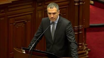 Salvador del Solar recibe voto de confianza del Congreso peruano