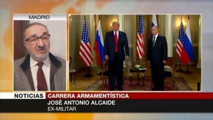 Alcaide: Trump no va a cortar ningún gasto militar de EEUU