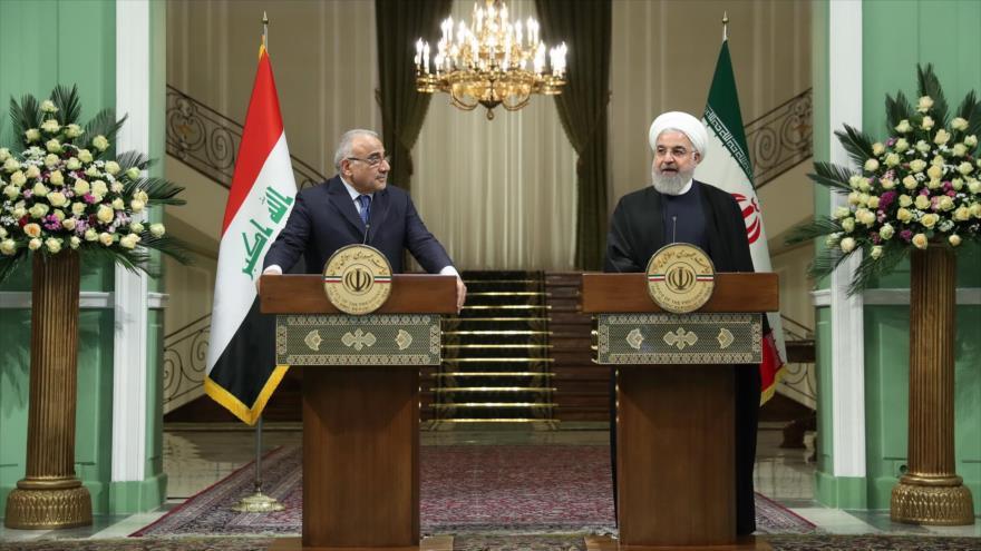 Irán e Irak aumentarán comercio anual a 20 mil millones de dólares