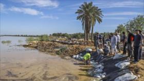 Irán ordena evacuación de 6 ciudades en el sur por inundaciones