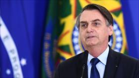 Cae en picado aprobación de Bolsonaro
