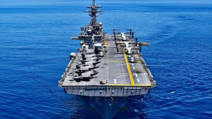 EEUU envía buque anfibio Wasp con 10 F-35 al mar del Sur de China
