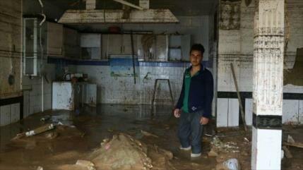 Irán condena hostilidad de EEUU contra afectados por inundaciones