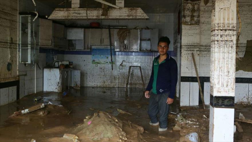 Irán condena hostilidad de EEUU contra afectados por inundaciones | HISPANTV