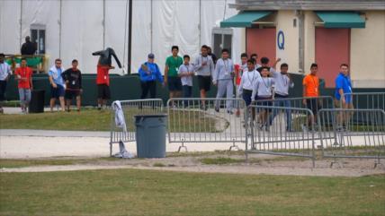 Aumento de capacidad del campo de concentración de niños en Florida