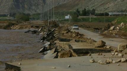 Continúan inundaciones sin precedentes en Irán