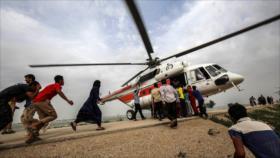 Ayuda humanitaria a los afectados por las inundaciones en Irán