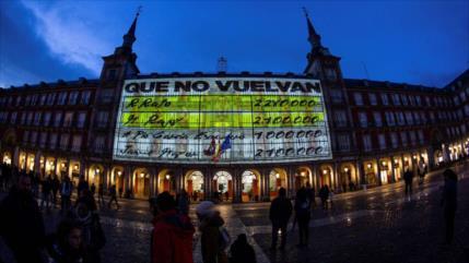 Podemos marca campaña en Madrid recordando la corrupción del PP