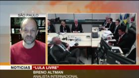 Altman: Encarcelamiento de Lula evita resistencia contra Bolsonaro