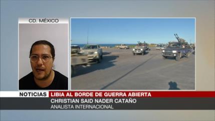 Cataño: EEUU aprovecha el caos en Libia para robar sus recursos