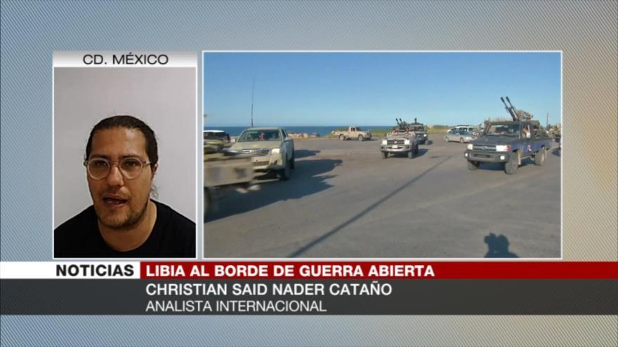Cataño: EEUU aprovecha el caos en Libia para robar sus recursos | HISPANTV