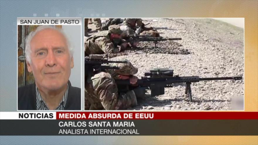 'El verdadero terrorista es EEUU y el mundo debe entenderlo' | HISPANTV