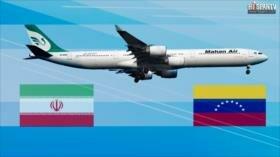 Irán inaugura vuelos directos entre Teherán y Caracas