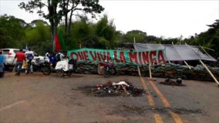 El paro indígena acuerda con el Gobierno de Colombia