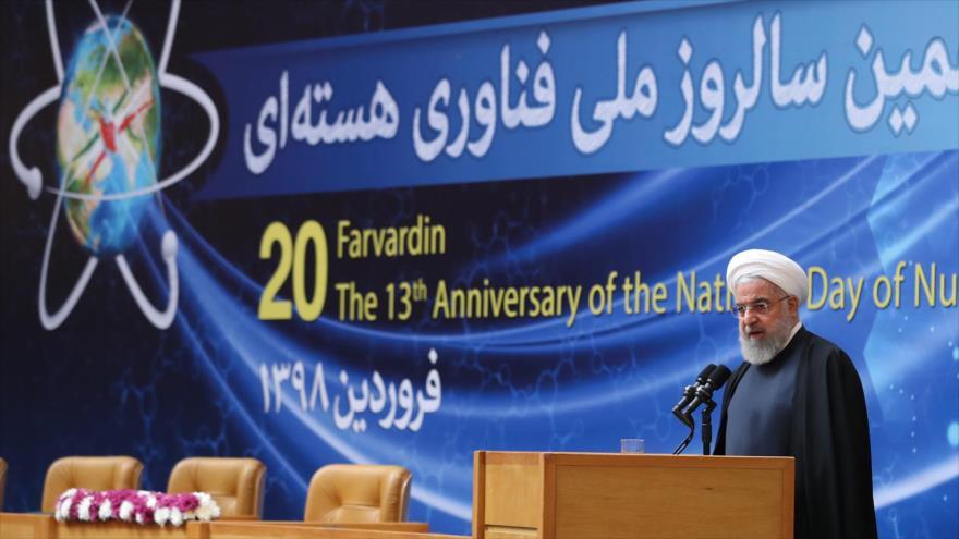 """Rohani: EEUU es el """"líder mundial del terrorismo"""""""