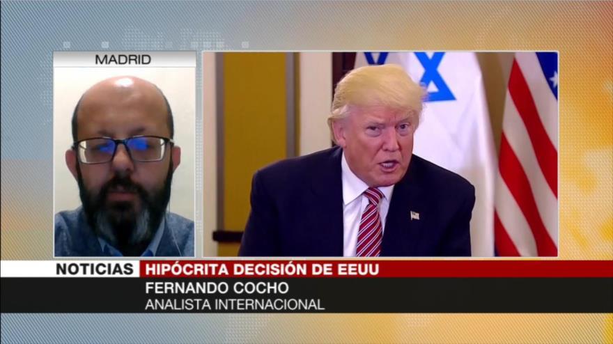 'Trump nombró terrorista al CGRI para desviar la atención pública'