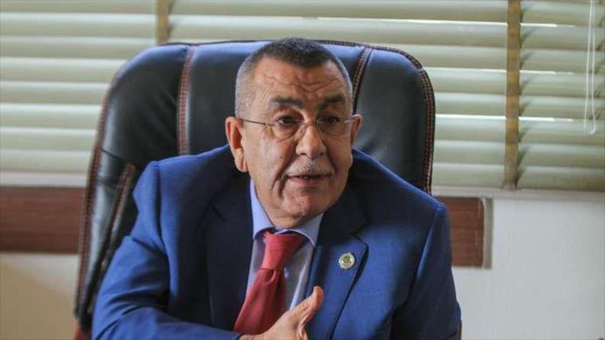 El secretario general adjunto de la Liga Árabe (LA) para Asuntos de Palestina y los Territorios Árabes Ocupados,Said Abu Ali.
