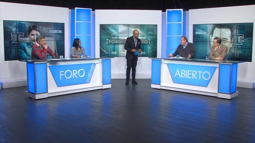 Foro Abierto; Guatemala: revocan candidatura presidencial de exfiscal general