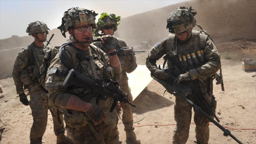 Soldados estadounidenses en la aldea de Kandalay, en la provincia afgana de Kunar.