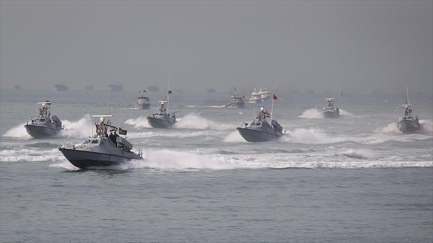 Irán a EEUU: ni se acerquen a los barcos del CGRI en Golfo Pérsico   HISPANTV