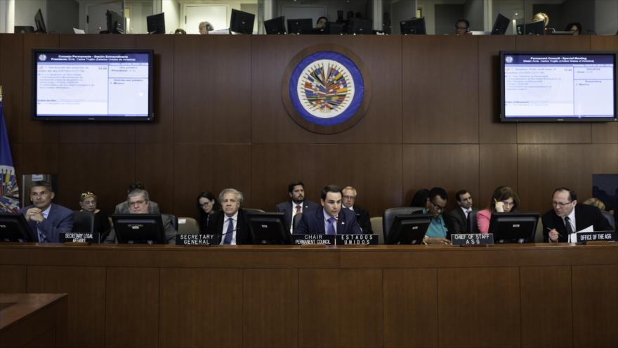 La sesión de la Organización de Estados Americanos (OEA) sobre Venezuela, 9 de abril de 2019. (Foto: flickr)