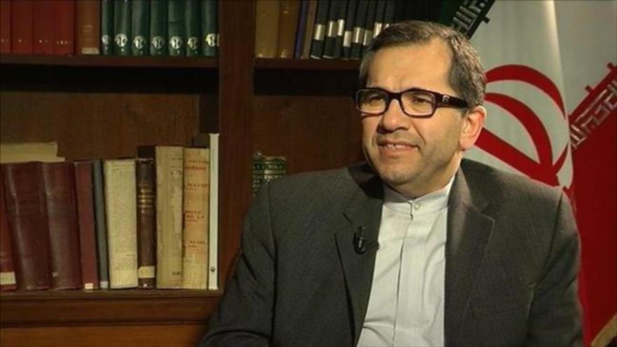 Mayid Tajt Ravanchi, nuevo embajador permanente de Irán ante la ONU.