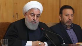 Rohani ve como ´pura propaganda´ decisión de EEUU contra el CGRI