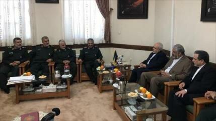 'Irán no permitirá a agresores destruir legado de sus militares'