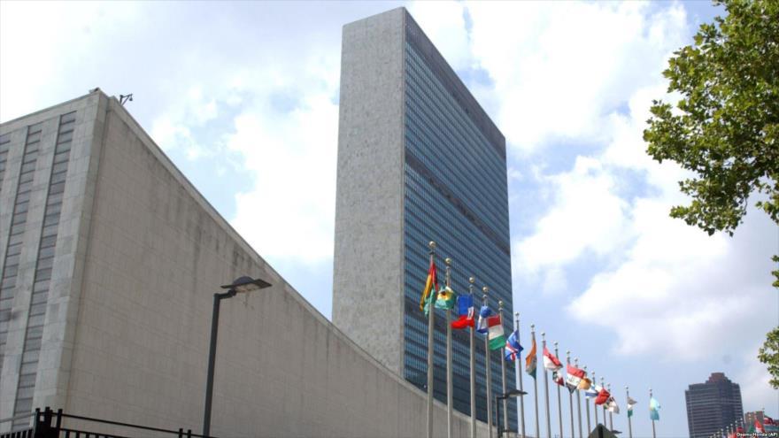 La fachada de la sede de la Organización de las Naciones Unidas (ONU) en Nueva York, EE.UU.