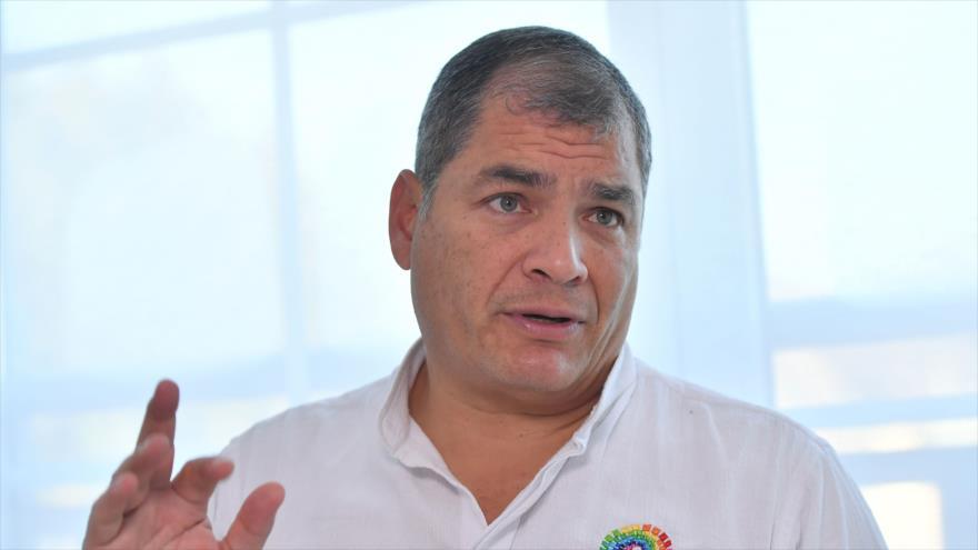 "Correa llama mayor ""traidor"" a Moreno por retirar asilo a Assange | HISPANTV"
