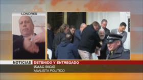 Bigio: EEUU hace detener a Assange para cometer crímenes de guerra