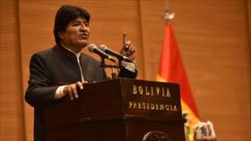 Morales condena 'enérgicamente' la detención de Assange