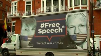 Julian Assange pierde su asilo y es arrestado en Londres