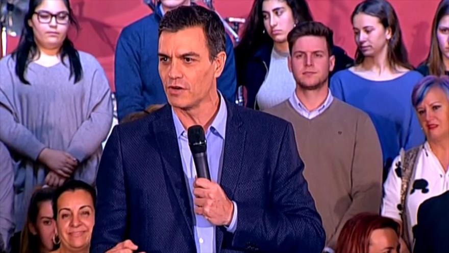 Arranca la campaña electoral en España para las elecciones de 28A   HISPANTV