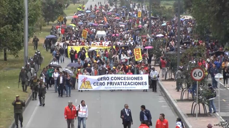 Organizaciones en Colombia publican informe de violación a DDHH
