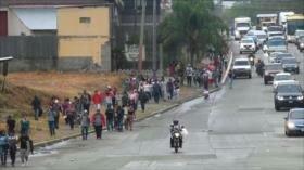 Parte nueva caravana de migrantes hondureños a EEUU