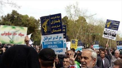 Iraníes condenan medida de Trump contra Cuerpo de Guardianes
