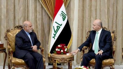"""Irak nunca será una base para """"dañar"""" a países vecinos como Irán"""