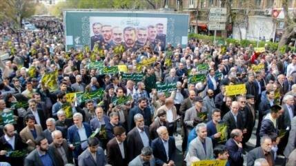 Manifestantes iraníes: Poder del CGRI provocó furia de Trump