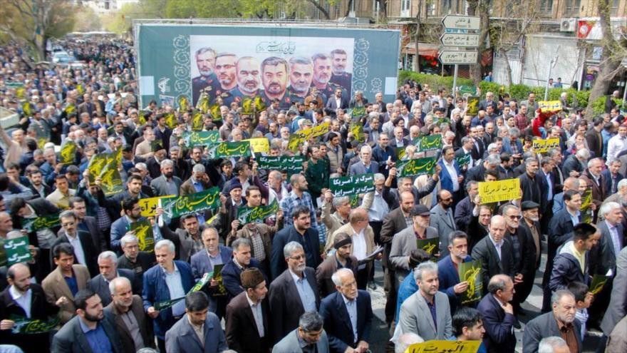 Manifestantes iraníes: Poder del CGRI provocó furia de Trump | HISPANTV