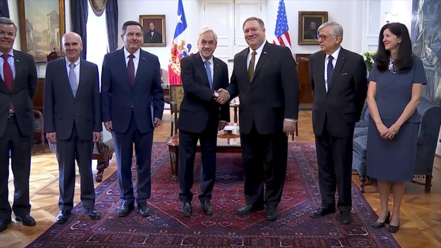 EEUU presiona a América Latina para aislar a Venezuela