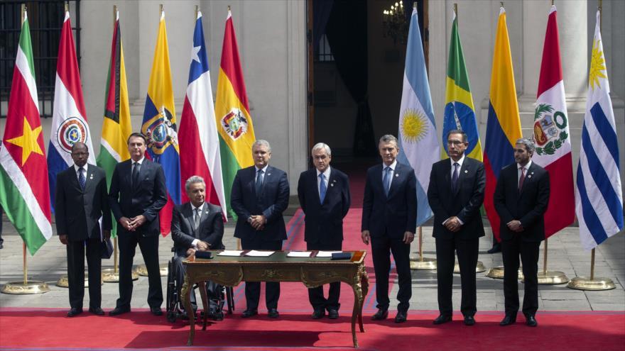 """Argentina se retira de Unasur por su """"alto contenido ideológico"""""""