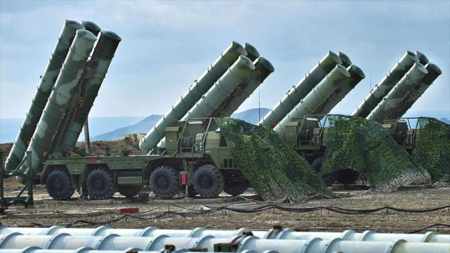 Vídeo: Crimea acoge por 1.ª vez exhibición militar de S-400 rusos