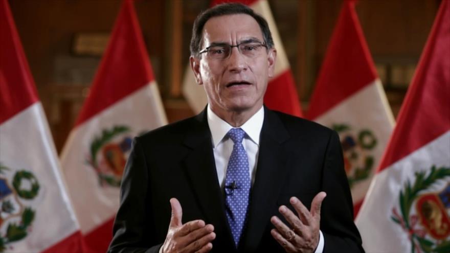 Vizcarra busca frenar su impopularidad con mensaje a la nación