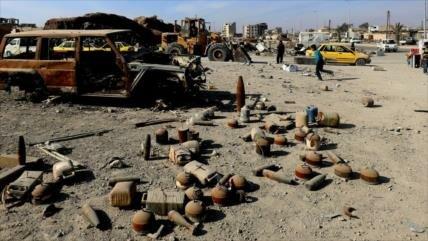 Explosión de una mina en Alepo deja 2 niños muertos y 5 heridos