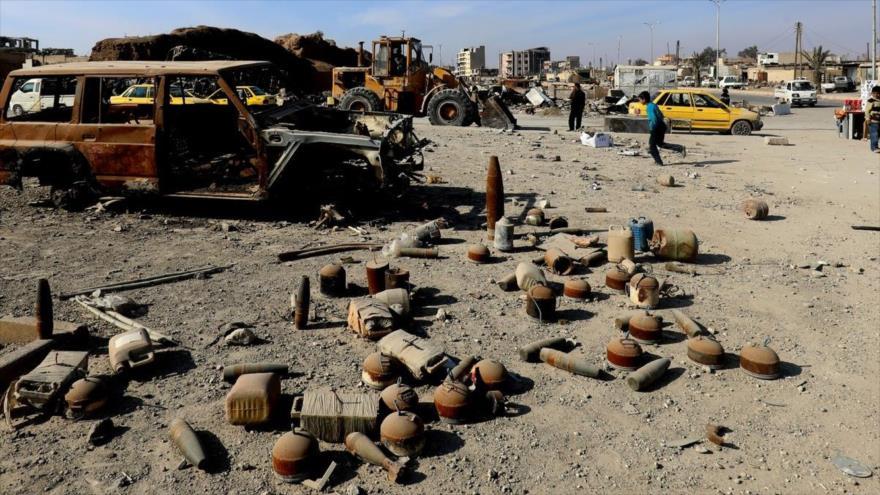 Explosión de una mina en Alepo deja 2 niños muertos y 5 heridos | HISPANTV