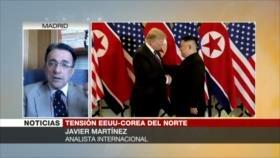 Martínez: Cumbre Trump-Kim falló por las exigencias de EEUU